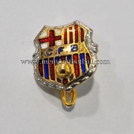 Antigua insignia esmaltada del CF Barcelona (España) c.1960