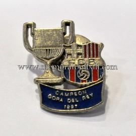 Pin de FC Barcelona Campeón Copa del Rey 1997
