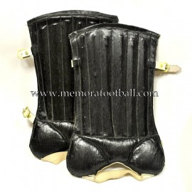 """Shin guards"" early 20th Century"