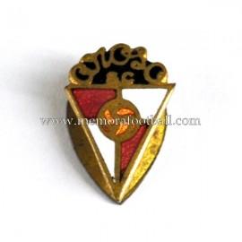 Antigua insignia esmaltada del Arosa SC (España) 1950s
