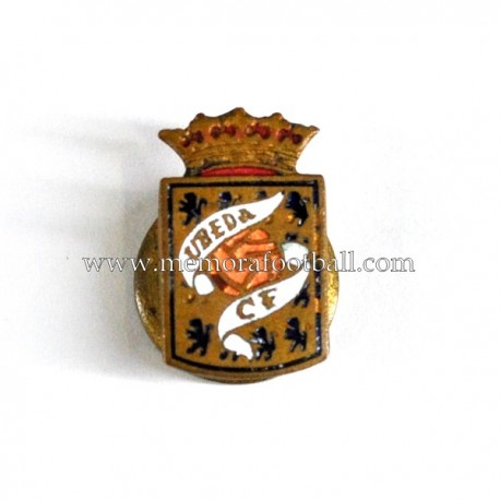 Antigua insignia del Úbeda CF (España) 1940s