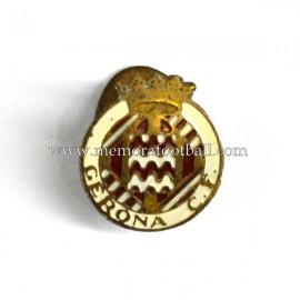 Antigua insignia esmaltada del Gerona CF (España) 1940-50