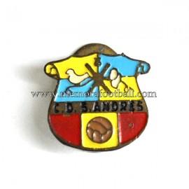 C.D. San Andrés badge c.1945