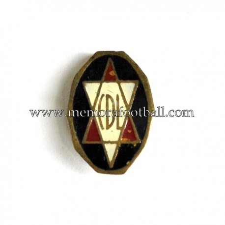 Antigua insignia esmaltada del C.D. Logroñés (España)