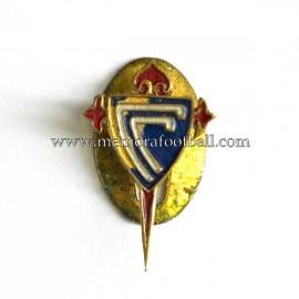 Antigua insignia esmaltada del Celta de Vigo (España)