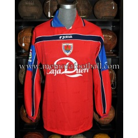 """CACO MORÁN"" CD Numancia LFP 1999-2000 match worn shirt"