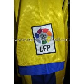 """QUIQUE ÁLVAREZ"" Villareal CF LFP 2000-01 match worn shirt"