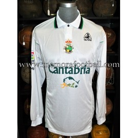 """REGUEIRO"" Racing Santander 2000/01 match worn shirt"