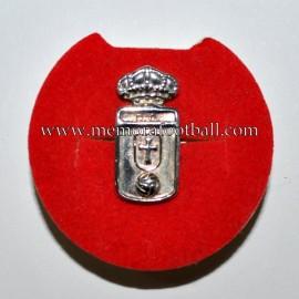 Insignia antigua de plata del Real Oviedo