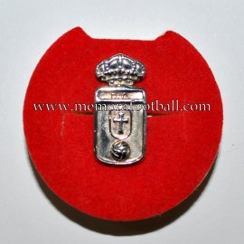 Real Oviedo old silver badge
