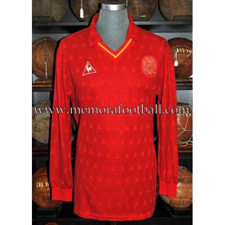 """""""MARTÍN VÁZQUEZ"""" Selección Española 1989-90 match worn shirt"""