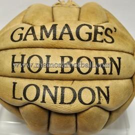 "Balón de 18 paneles ""GAMAGES´HOLBORN LONDON""1950s Inglaterra"