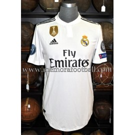 """ISCO"" Real Madrid CF 2018-2019 CL match unworn shirt"