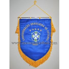 Banderín oficial bordado de la Confederaçao Brasileira de Futebol