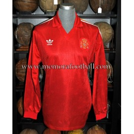 """GOICOECHEA"" Spain National Team 1990-91 match worn shirt"