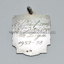 Atletico de Madrid Spanish League Runners-up medal season 1957-58
