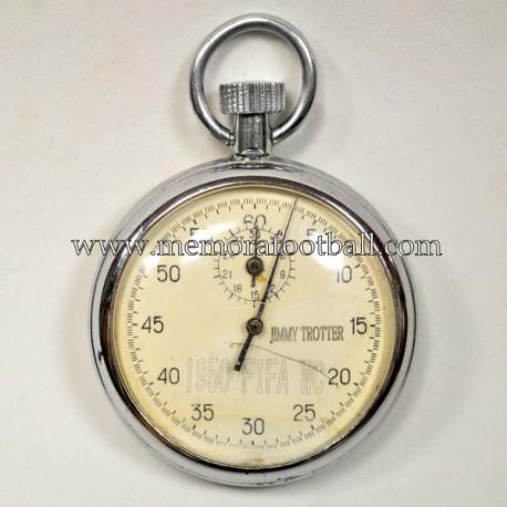 Cronómetro de árbitro FIFA World Cup 1950,  Jimmy Trotter