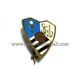 Antigua insignia esmaltada del SG Lucense (España)