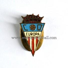 Insignia antigua del CD Europa 1960s
