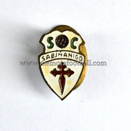 Insignia antigua del SC Sabiñánigo 1960s