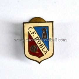 Insignia antigua del CF Pobla 1960s