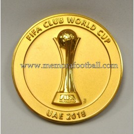 2018 FIFA Club World Cup United Arab Emirates participation medal