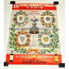 Trofeo Ramón de Carranza 1968 official poster
