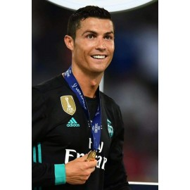 """CRISTIANO RONALDO"" Real Madrid CF 2018 UEFA Supercup Final match unworn shirt"