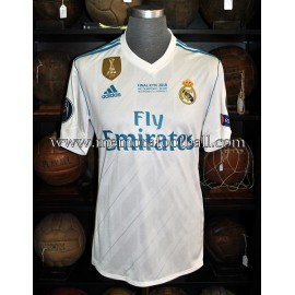 """MODRIC"" Real Madrid CF UEFA Champions League Final 26-05-2018 match unworn shirt"