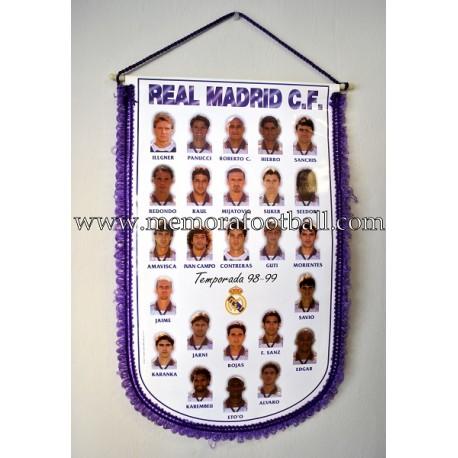 Banderín del Real Madrid 1998-99