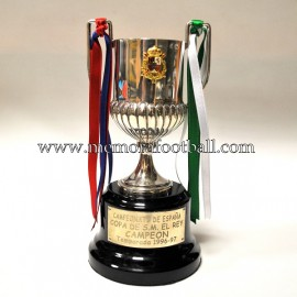 FC BARCELONA Spanish FA Cup silver trophy 1996-97