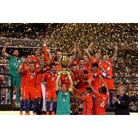 "Selección de Chile ""Copa América Centenario 2016"" trofeo versión jugador"