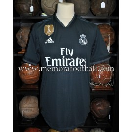 """BENZEMA"" Real Madrid CF 2018-2019 CL match unworn shirt"