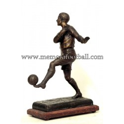A spelter figure of a...