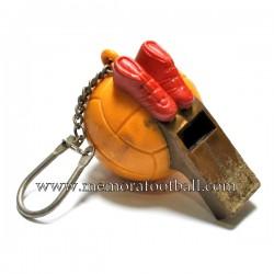 Football keychain c.1960 Spain