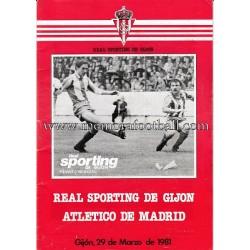 """Sporting de Gijón"" 1981..."