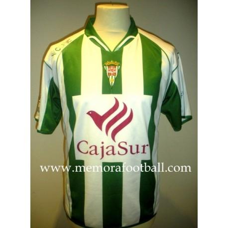 """KATXORRO"" Córdoba CF Nº25 LFP 2008/2009 match worn shirt"