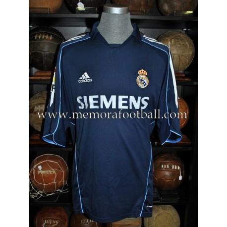 """WOODGATE"" Real Madrid 2005-2006 match worn shirt"