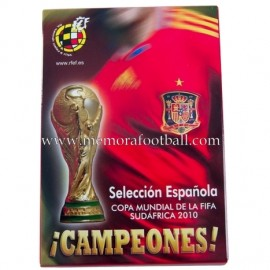 Spain National Team, 2010 FIFA World Cup 2010 - 25 signed postcards