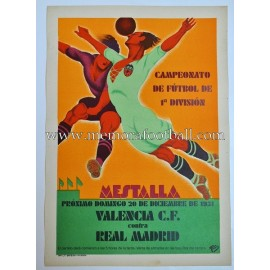 Valencia FC vs Real Madrid 1931