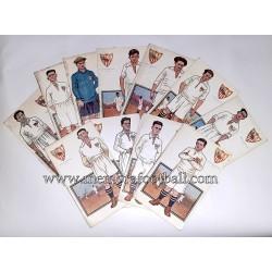 Colección de postales del...
