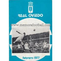 Boletín nº 21 Real Oviedo...