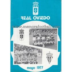 Boletín nº 29 Real Oviedo...