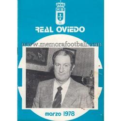 Boletín nº43 Real Oviedo vs...