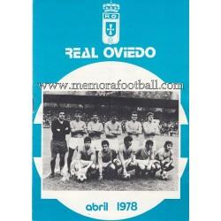 Boletín nº45 Real Oviedo vs...