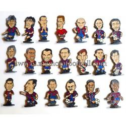 20 figuritas metálicas FC...