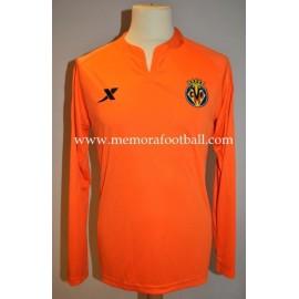 """CÉSAR"" nº1 goalie Villareal CF LFP 2011-2012 UEFA match issued shirt"