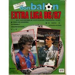 EXTRA LIGA 1986-87 - DON BALÓN