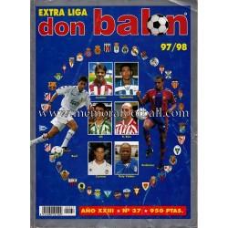 EXTRA LIGA 1997/98 - DON BALÓN