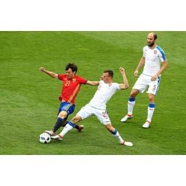 """Botas originales de """"DAVID SILVA"""" Selección Española 2016"""